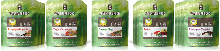 Adventure Food product range