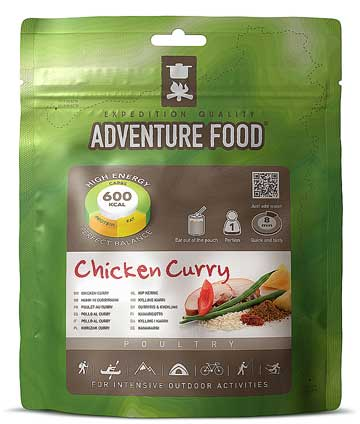 Chicken Curry pouch