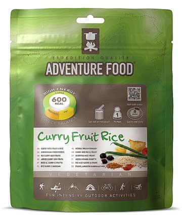 Curry Fruit Rice pouch